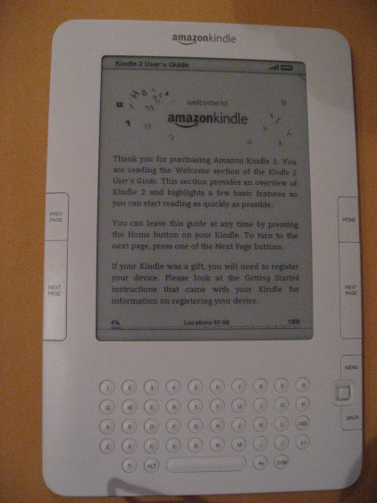 Proudly Serving My Corporate Masters: Kindle 2 OOBE